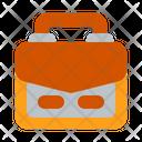 Briefcase School Bag Bag Icon