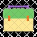 Briefcase School Bag Student Icon