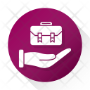 Briefcase Business Office Icon