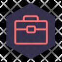 Briefcase Case Design Icon