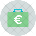 Briefcase Cash Bag Icon
