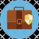 Briefcase Lock Secure Icon
