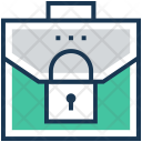 Briefcase Case Lock Icon