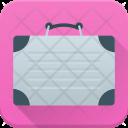 Briefcase Suitcase Hand Icon