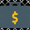 Briefcase Money Case Icon