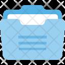 Briefcase Filing Data Icon