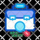 Briefcase Bag Check Icon