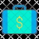Briefcase Dollar Briefcase Dollar Icon