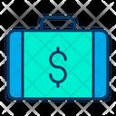 Briefcase Dollar Icon