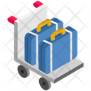 Logistics Delivery Briefcase Icon