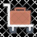Dolly Briefcase Hotel Icon