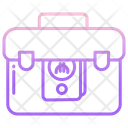 Briefcase Money Icon