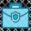 Briefcase Shield Icon