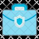 Briefcase Computer Security Icon