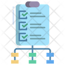 Briefing Project Briefing Document Checklist Icon