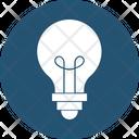 Bright Bulb Electricity Icon