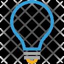 Bright Bulb Idea Icon
