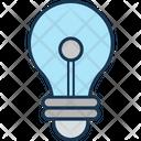 Bright Bulb Bulb Light Icon