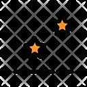 Bright Starry Icon