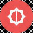 Brightness Medium Function Icon