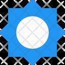Brightness Maximum Sign Icon