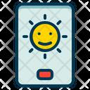 Brightness Screen Light Icon