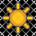 Brightness Sun Light Icon