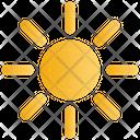 Sun Brightness Sunny Icon