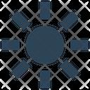 Ui Ux Sun Icon