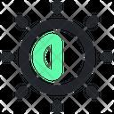Brightness Design Creative Icon