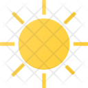 Brightness Interface User Icon