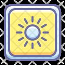 Brightness Bright Light Icon