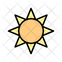 Brightness Sun Sunrise Icon