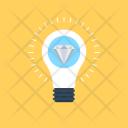 Brilliant Idea Bulb Icon