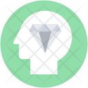 Brilliant Head Mind Icon