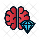 Brilliant brain Icon