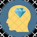 Brilliant Head Icon