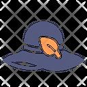 Hat Leaf Fashion Icon