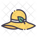 Brimmed Hat Icon