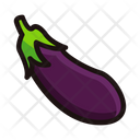 Bringle Eggplant Aubergines Icon