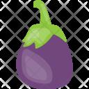 Brinjal Eggplant Vegetable Icon