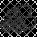Briquettes Icon