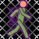 Brisk Walking Brisk Fast Icon