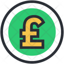 British Currency Pound Icon