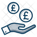 British Coins Currency Coin Icon
