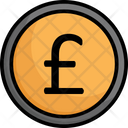 British Currency British Pound Currency Icon