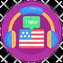 English Course Audio Learning British Language Course Icon