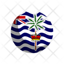 British Ndian Ocean Territory Icon