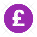 British Cash Currency Icon
