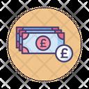Mbritish Pound British Pound Pound Icon
